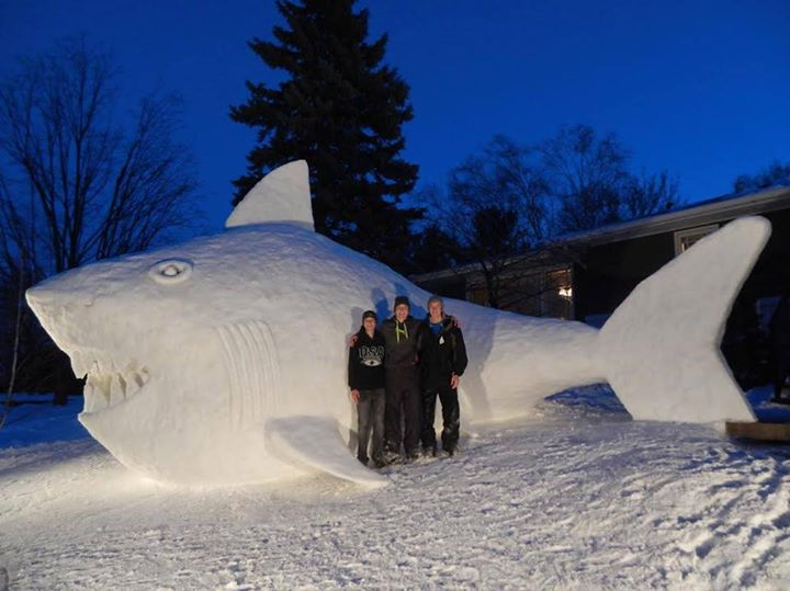 Bartz Brothers Snow Sculptures