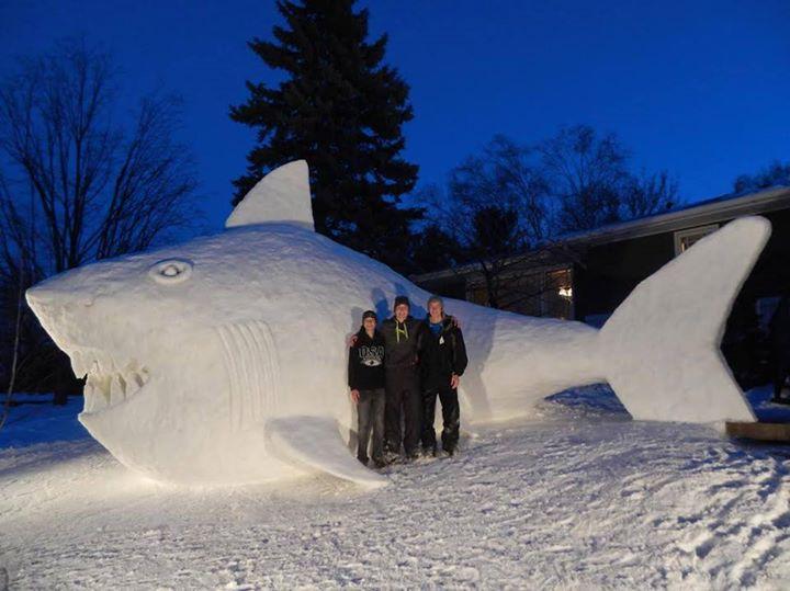 Bartz Brothers Snow Sculptures