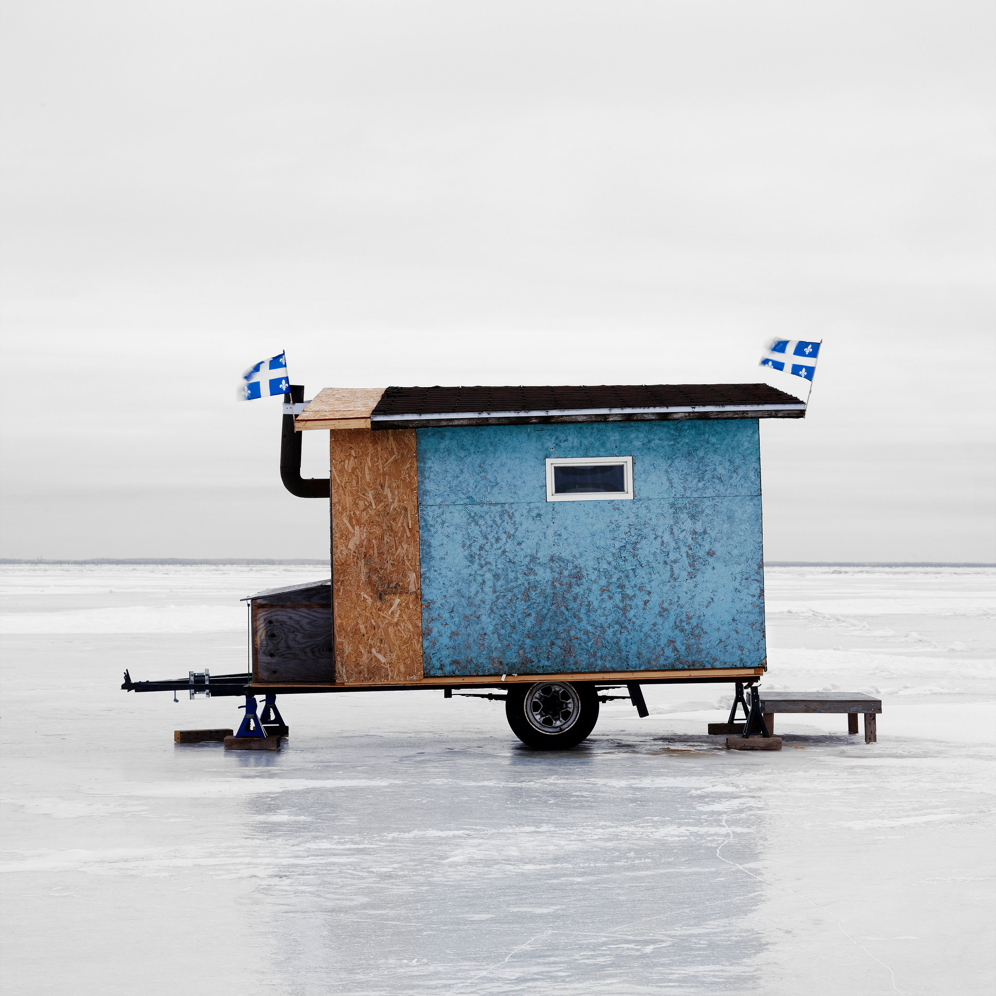 Hut Design: Photographer Documents The Diverse Designs Of Canadian Ice