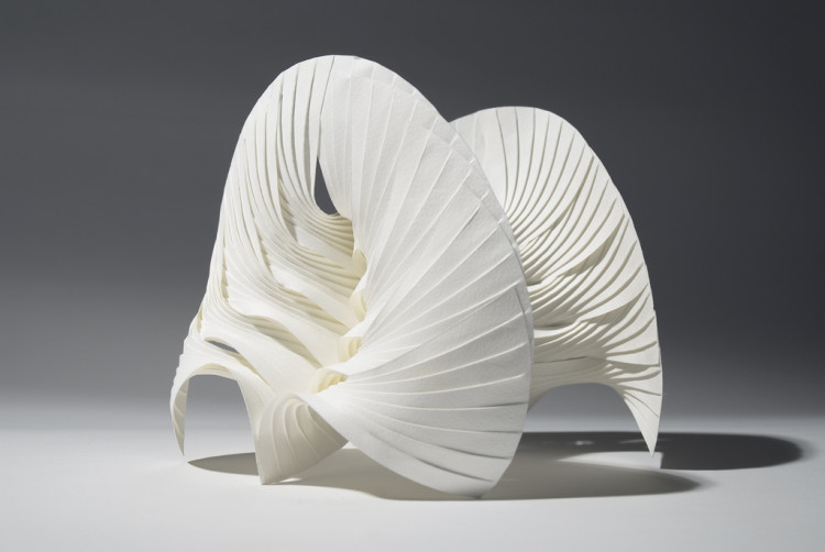 Paper Figure Sculptures and Intricate Origami by Richard Sweeney
