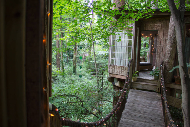 Fairy Tale Treehouse in Atlanta Georgia