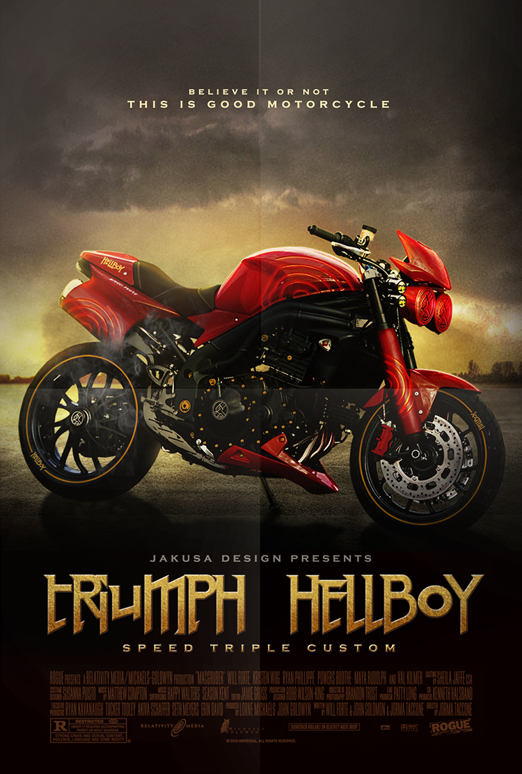 Hellboy Motorcycle