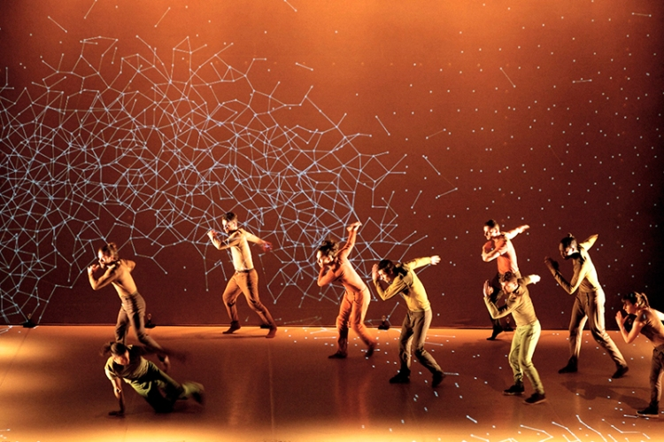 Pixel Digital Projection Dance Performance