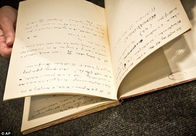 Alan Turing's Notebook