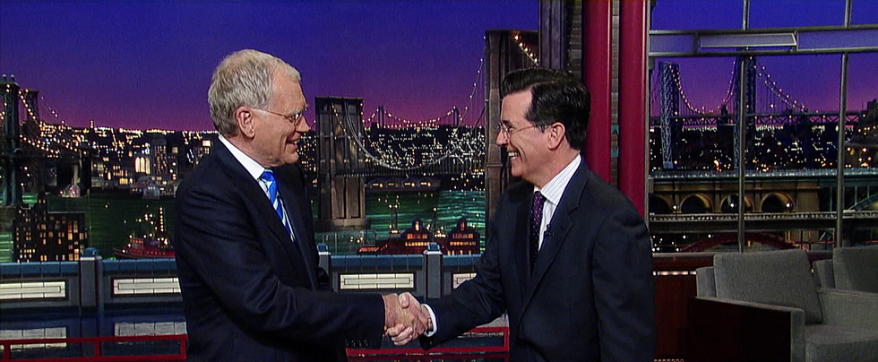 David Letterman - Stephen Colbert