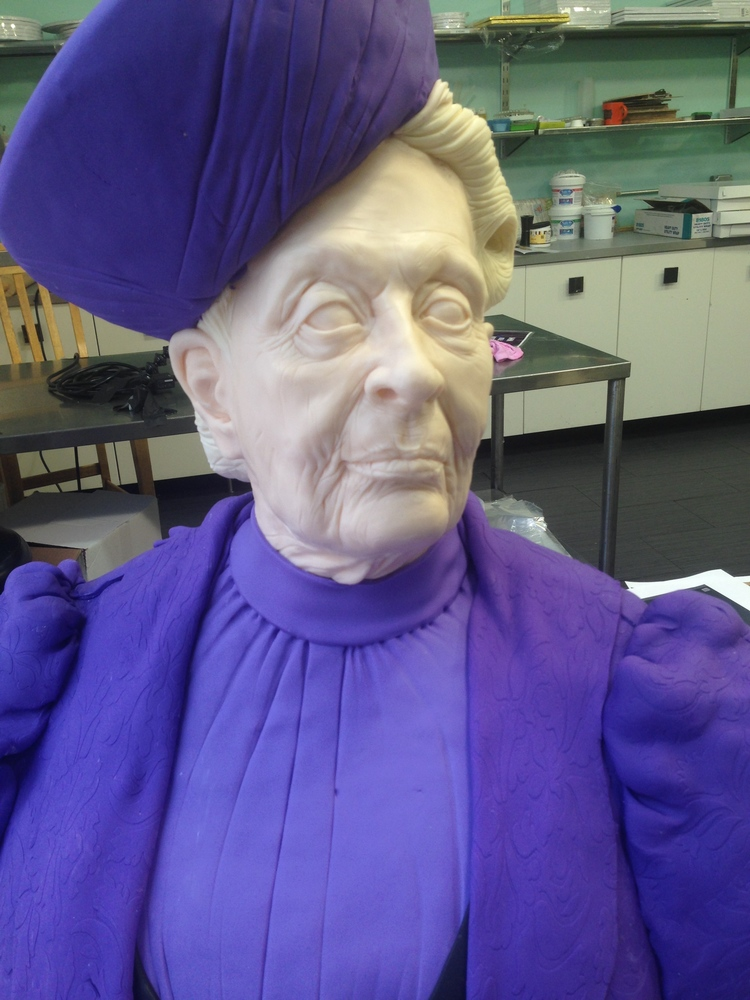 Dowager Countess in Violet