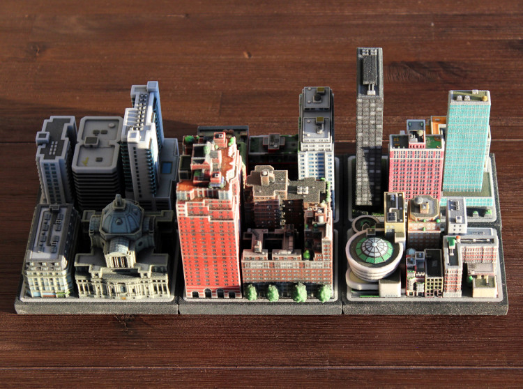 Ittyblox Mini 3D-Printed Cities