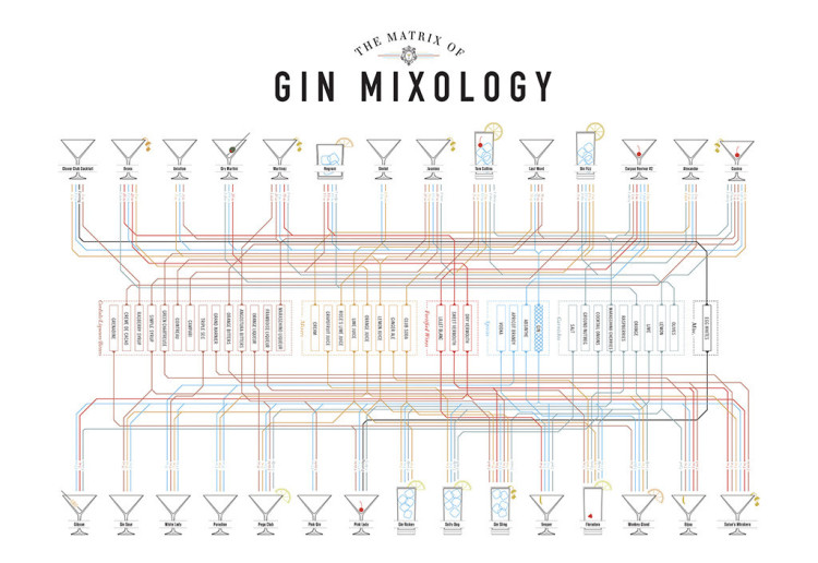 Gin Mixology Matrix