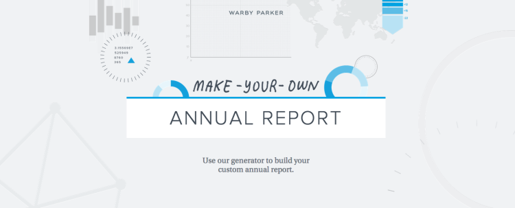 Make Your Own Annual Report