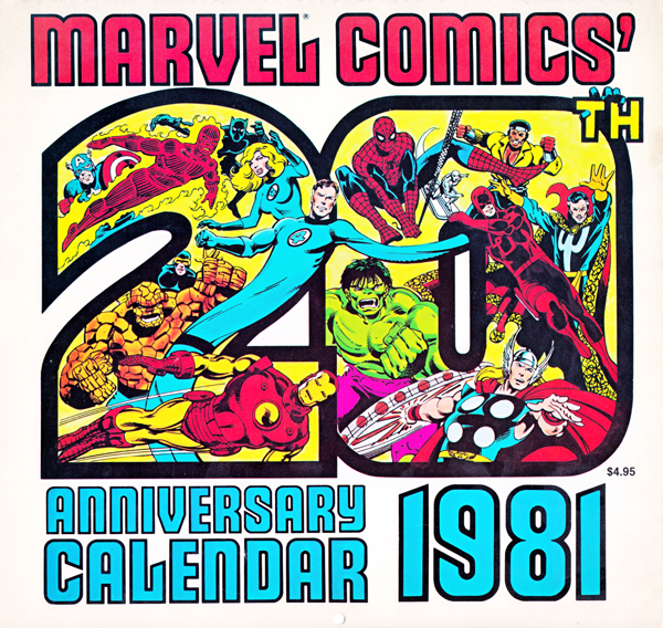 Marvel Calendar