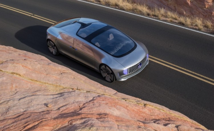Mercedes-Benz F 015 Luxury in Motion Research Vehicle