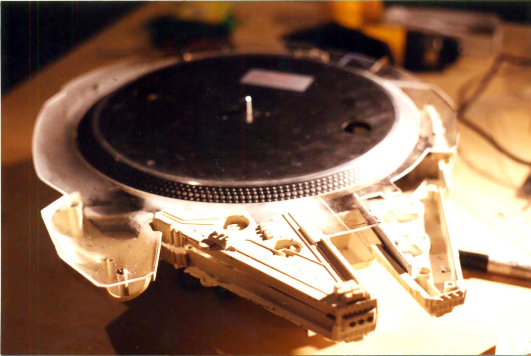 Millennium 1200 A Turntable Built Inside A Repurposed