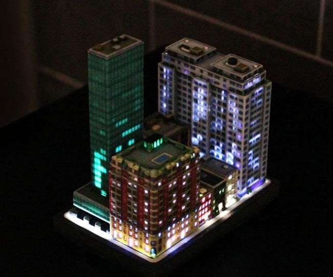 Ittyblox Mini 3D-Printed Cities
