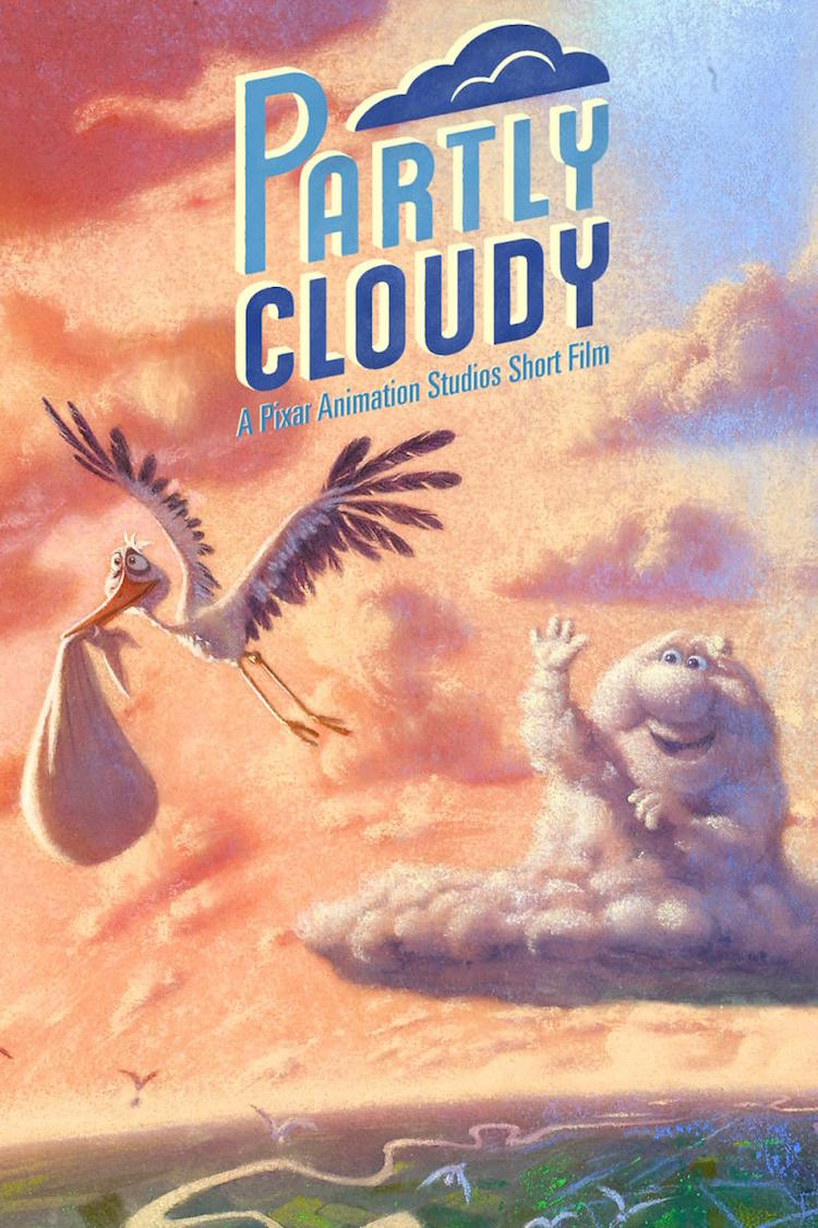 'Partly Cloudy', An Amusing Pixar Animation About a Cloud Who Creates Babies and the Loyal Stork Who Delivers Them