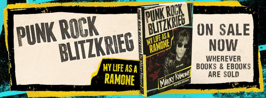 'Punk Rock Blitzkrieg: My Life as a Ramone', Drummer Marky Ramone's Memoir About Being in The Ramones