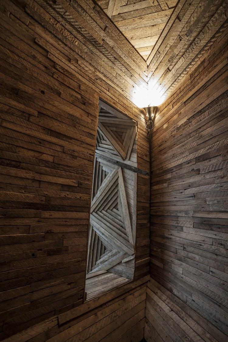 Geometric Installations by Serra Victoria Bothwell Fels
