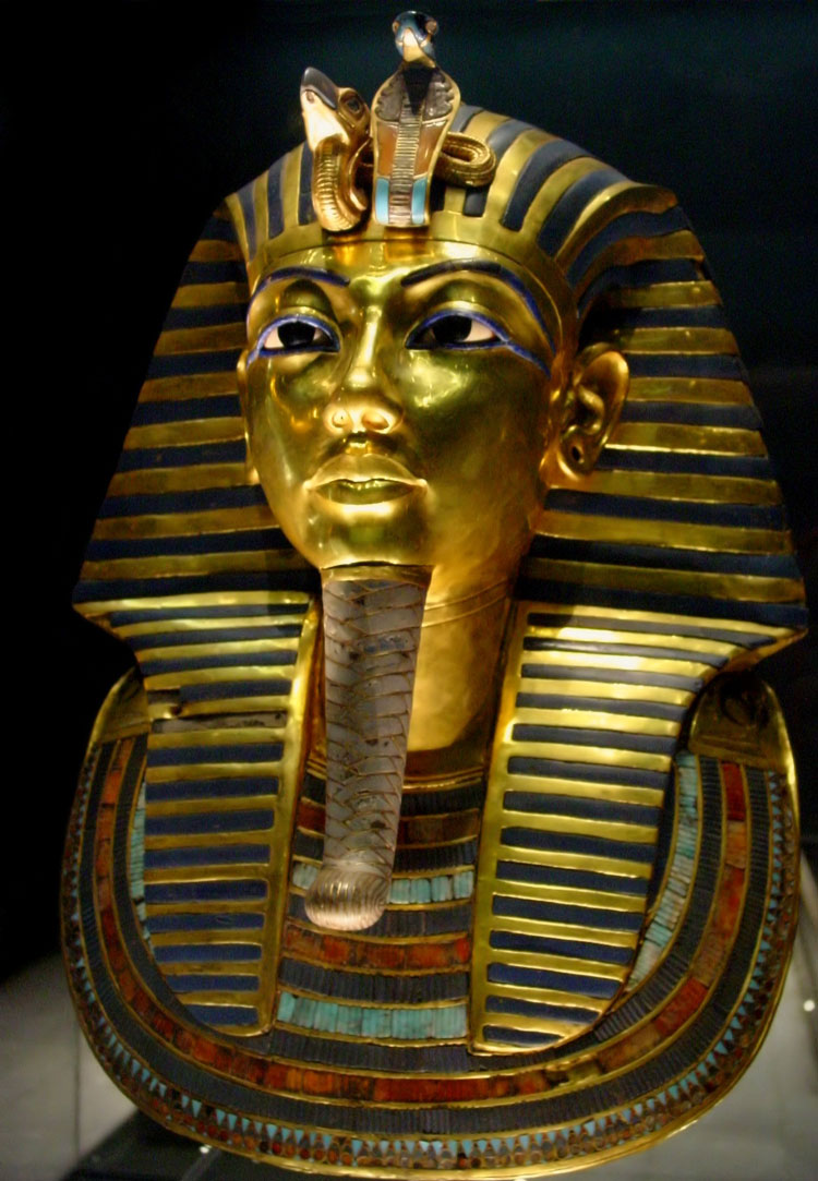 King Tut's Iconic Golden Burial Mask Damaged by Rushed Repair Job