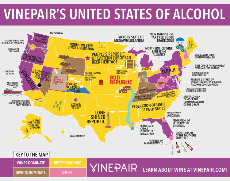United States of Alcohol