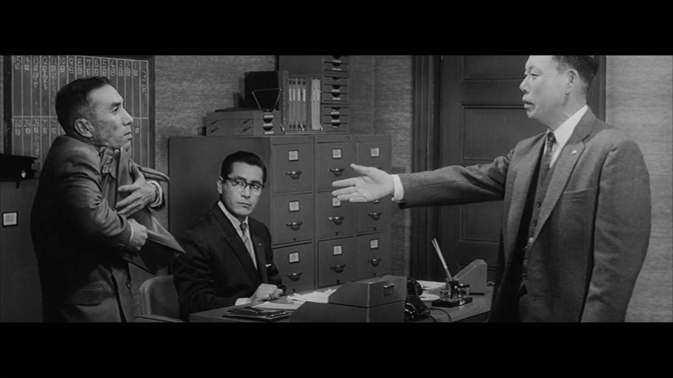 Akira Kurosawa U0026 39 S Masterful Use Of Geometry In The Staging Of A Scene From The 1960 Film  U0026 39 The Bad