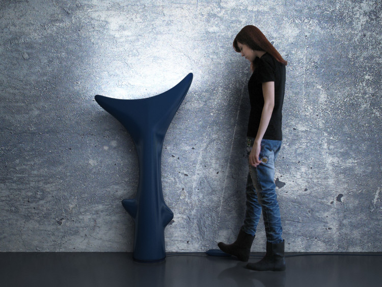 Shark Tail Floor Lamp