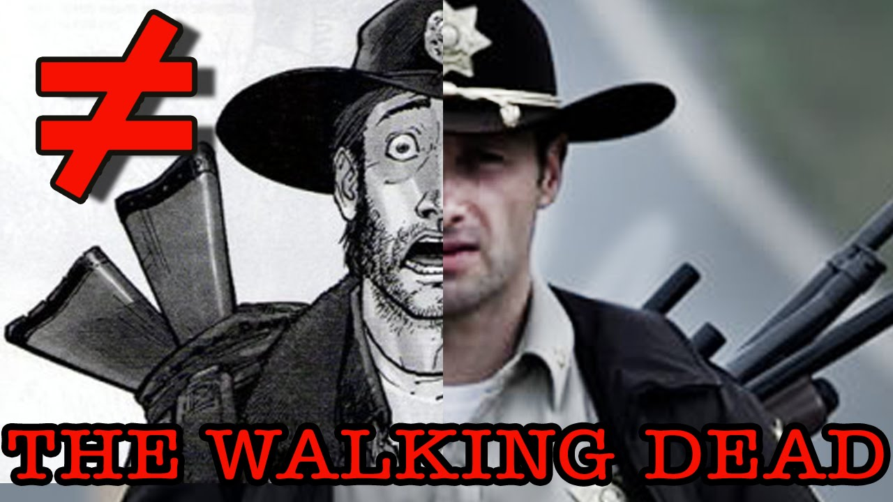 The Differences Between Season One of 'The Walking Dead' Television Series and the Comic Book Series