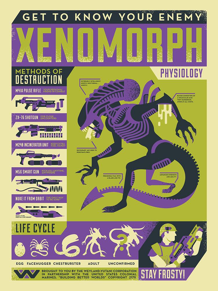 Know your enemy: Xenomorph