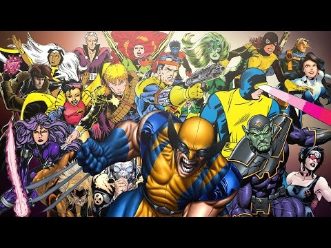 'Every X-Man Ever', A Video Timeline Infographic Detailing Every Mutant Who Joined Professor Xavier's Team of X-Men