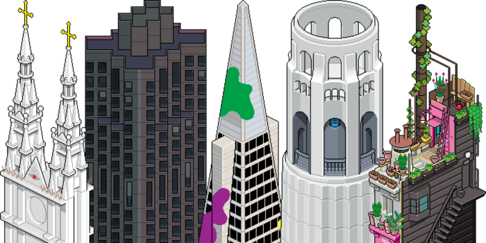 San Francisco Pixorama by eBoy