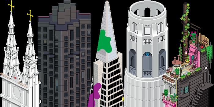 San Francisco Pixorama by eBoy