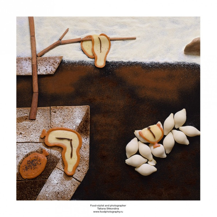 Food Stylist Recreates Famous Paintings With Food