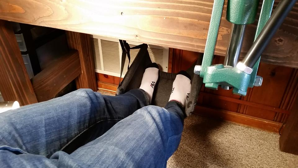 The Foot Hammock A Brilliant Device Designed To Allow