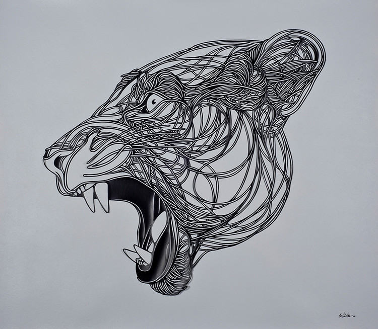Intricate Paper Cut Art by Max Gartner