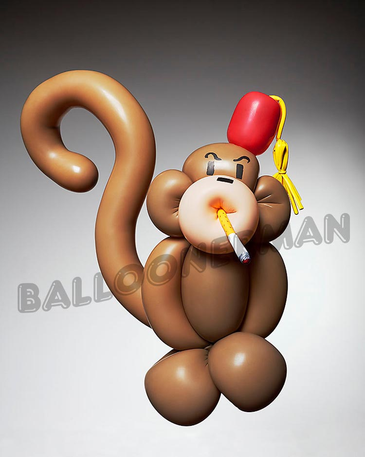 Demented Balloon Sculptures