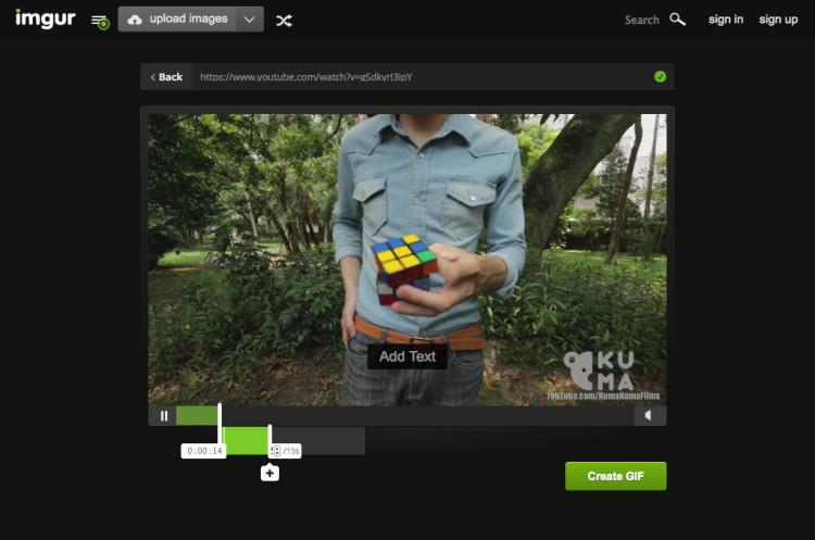 Imgur Video to GIF