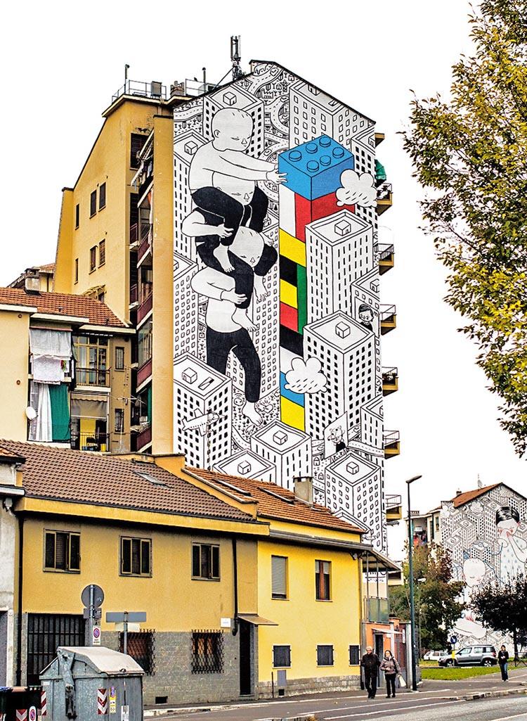 Playful Street Art by Millo
