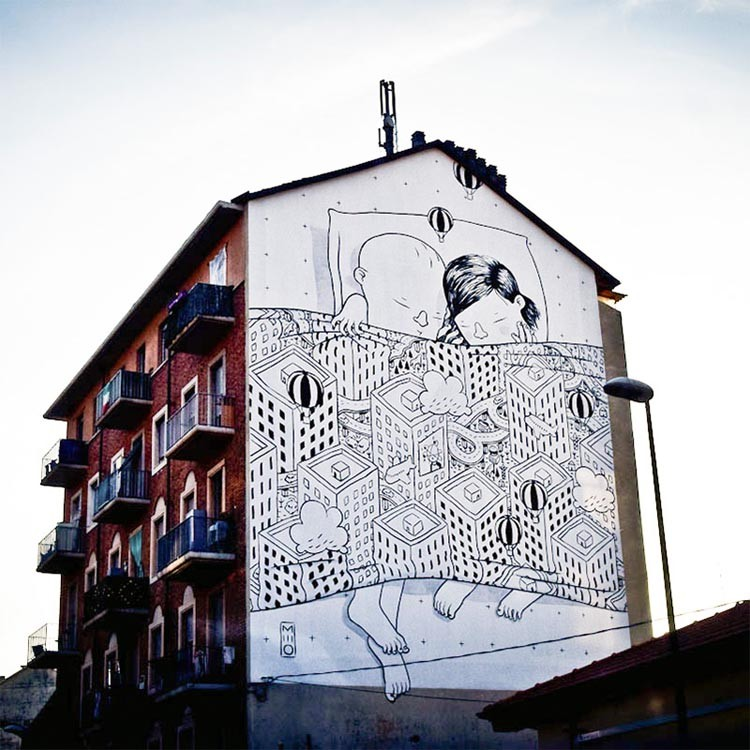 Playful Street Art by Millo5