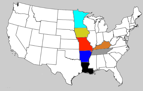 Mimal, The Elf Hidden in the Map of the United States