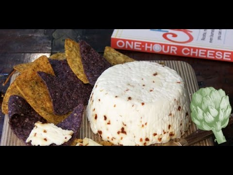 'One Hour Cheese' Author Claudia Lucero Demonstrates How to Make a Simple Cheese in Less Than 15 Minutes