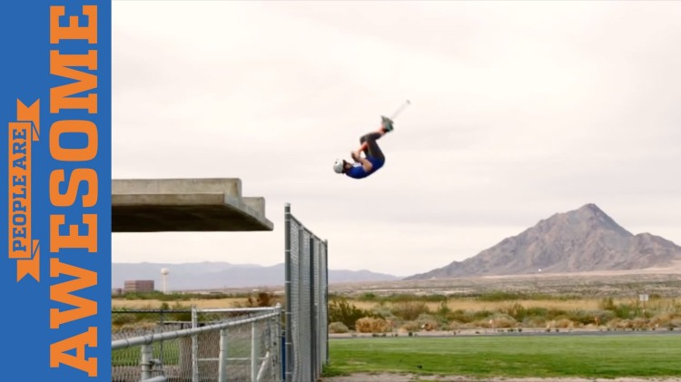 An Impressive Video Compilation of Extraordinarily Awesome Tricks Done on Pogo Sticks