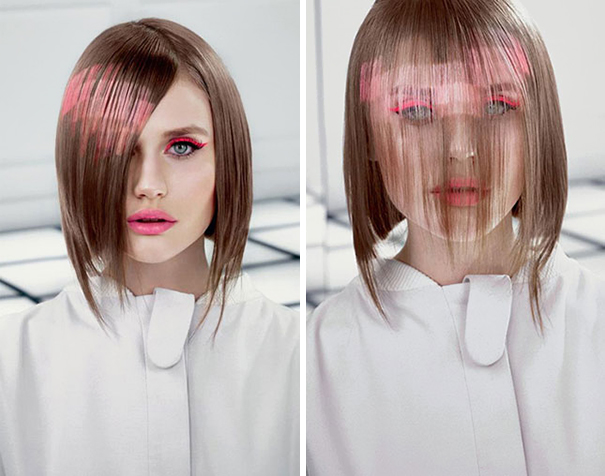 Spanish Hair Studio Develops a Pixel Art Hair Coloring Technique