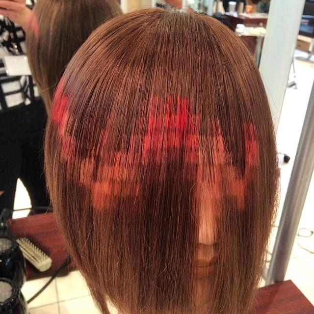 Pixel Hair Coloring