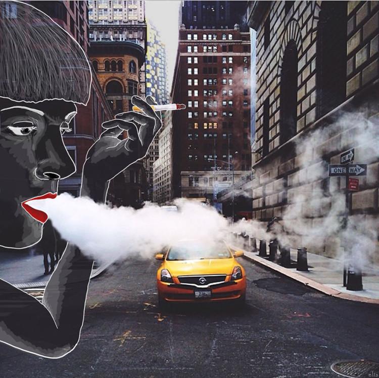 New York City Illustrations by Eliska Podzimkova=