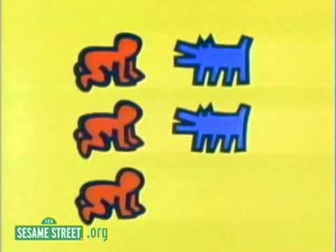 'Sesame Street' Animations Featuring the Iconic Art of Keith Haring