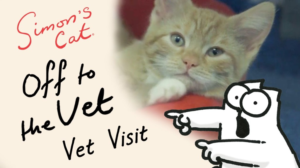 Simon of Simon's Cat Visits a Cat Rescue Center While Doing Research for His Fully Funded 'Off to the Vet' Film