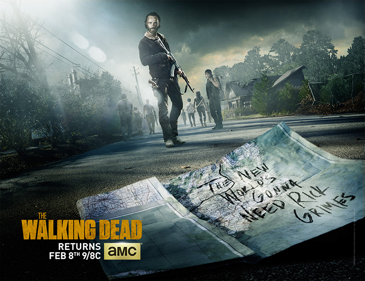 The Walking Dead Season 5 Midseason Premiere Poster Revealed