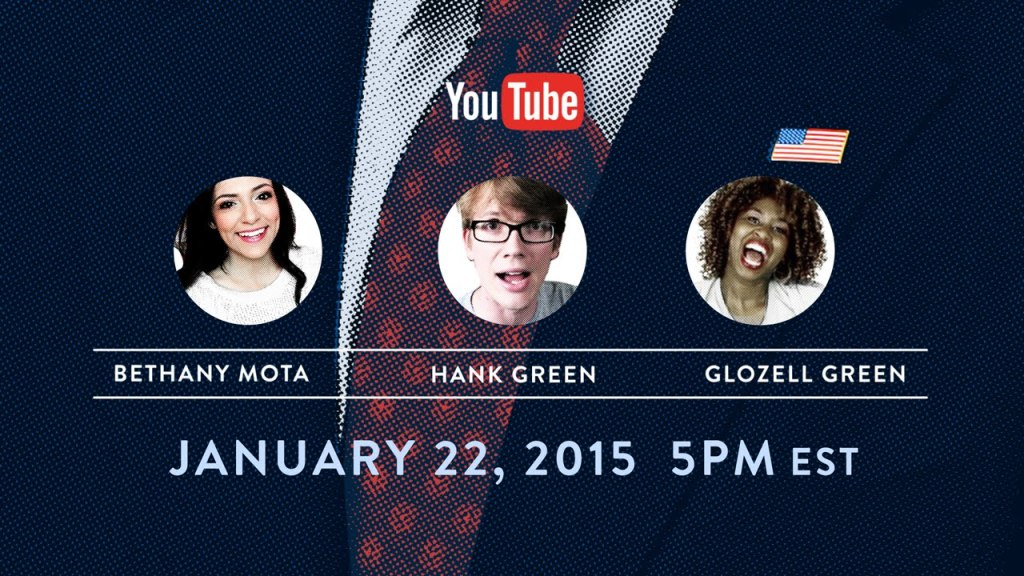 Three Popular YouTube Stars Interview President Obama Live from the White House