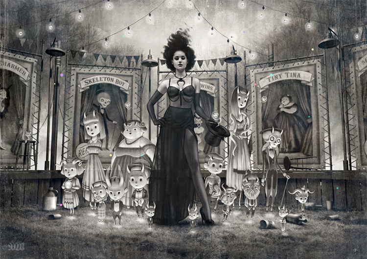 The Conjuring by Tom Bagshaw