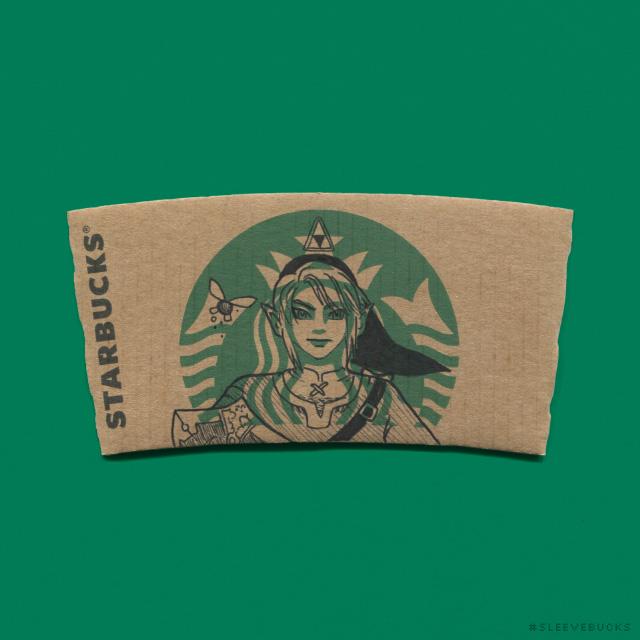 Artist Sleevebucks Transforms The Mermaid Logo On