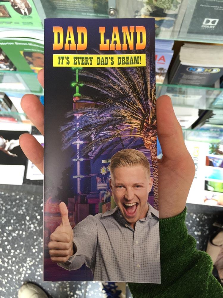 Dad Land Fake Brochure by Jeff Wysaski