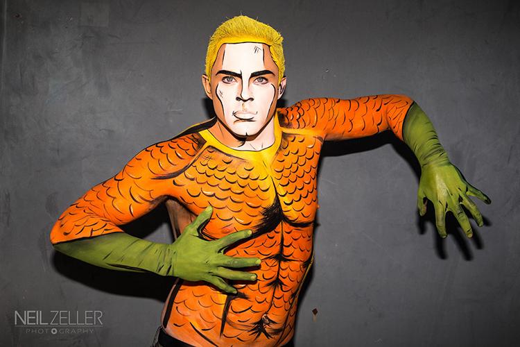 Superhero Makeup
